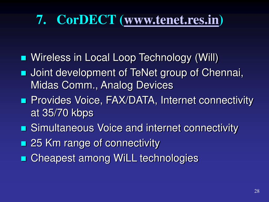 7.CorDECT (