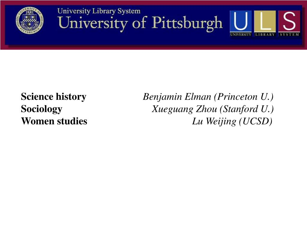 Science history