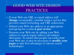 good web site design practices49