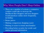 why more people don t shop online