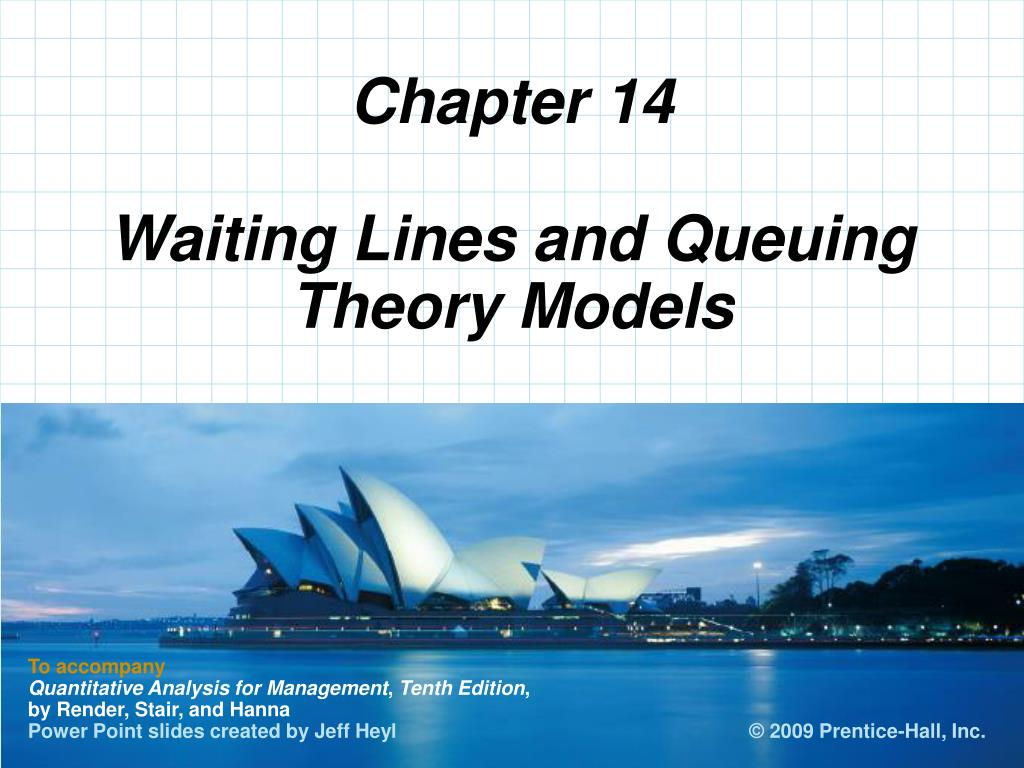 PPT - Waiting Lines and Queuing Theory Models PowerPoint