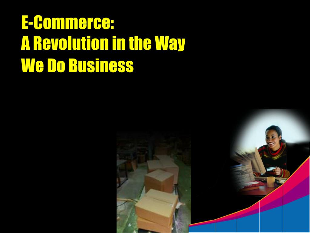 e commerce a revolution in the way we do business l.