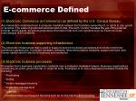 e commerce defined
