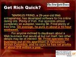 get rich quick