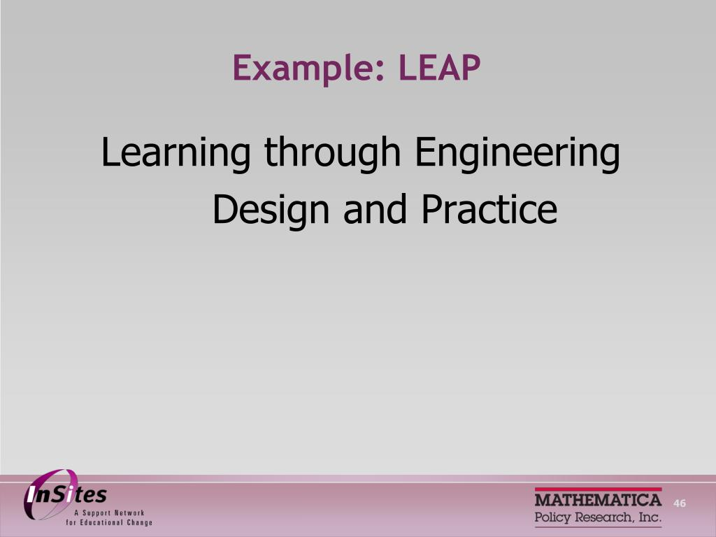 Example: LEAP