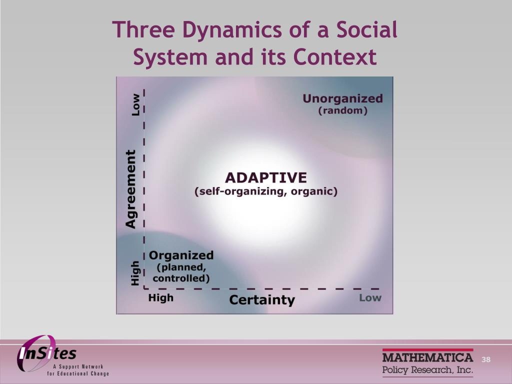 Three Dynamics of a Social