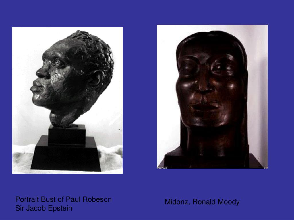 Portrait Bust of Paul Robeson