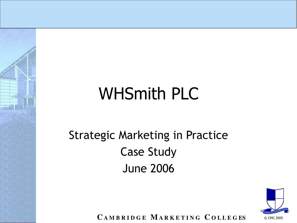 whsmith plc l.
