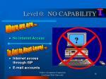 level 0 no capability