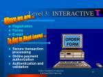 level 3 interactive