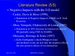 literature review 5 5