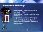 resource planning1