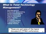 what is total technology management