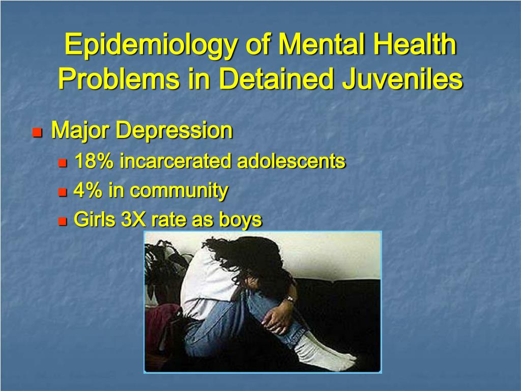 Epidemiology of Mental Health Problems in Detained Juveniles