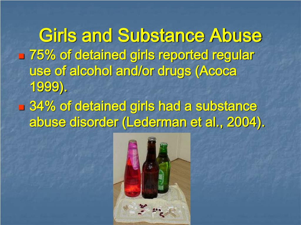 Girls and Substance Abuse