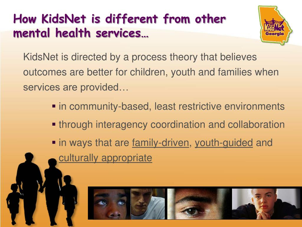 How KidsNet is different from other mental health services…