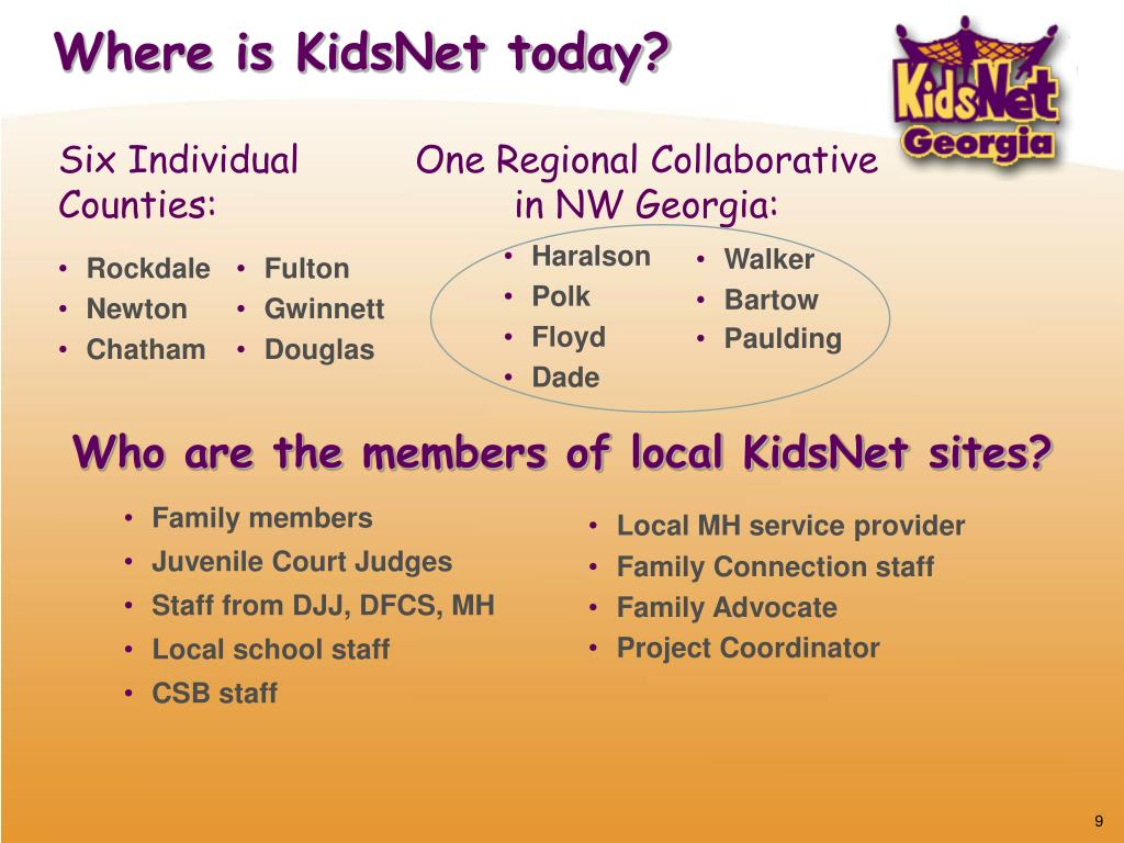 Where is KidsNet today?