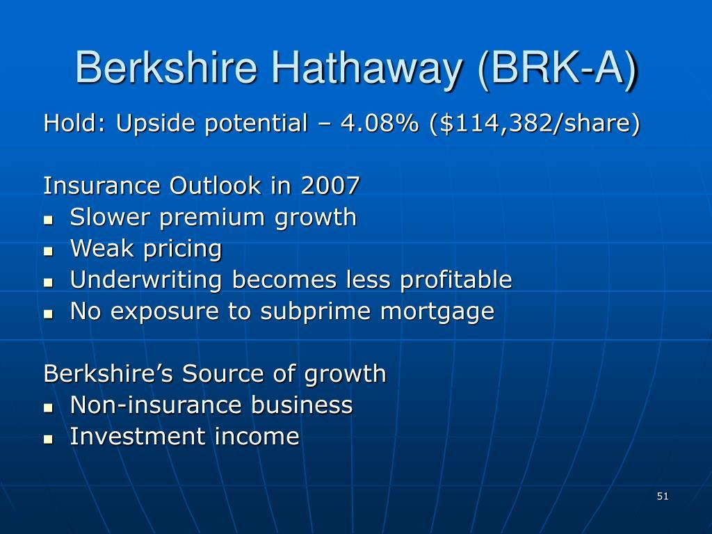 Berkshire Hathaway (BRK-A)