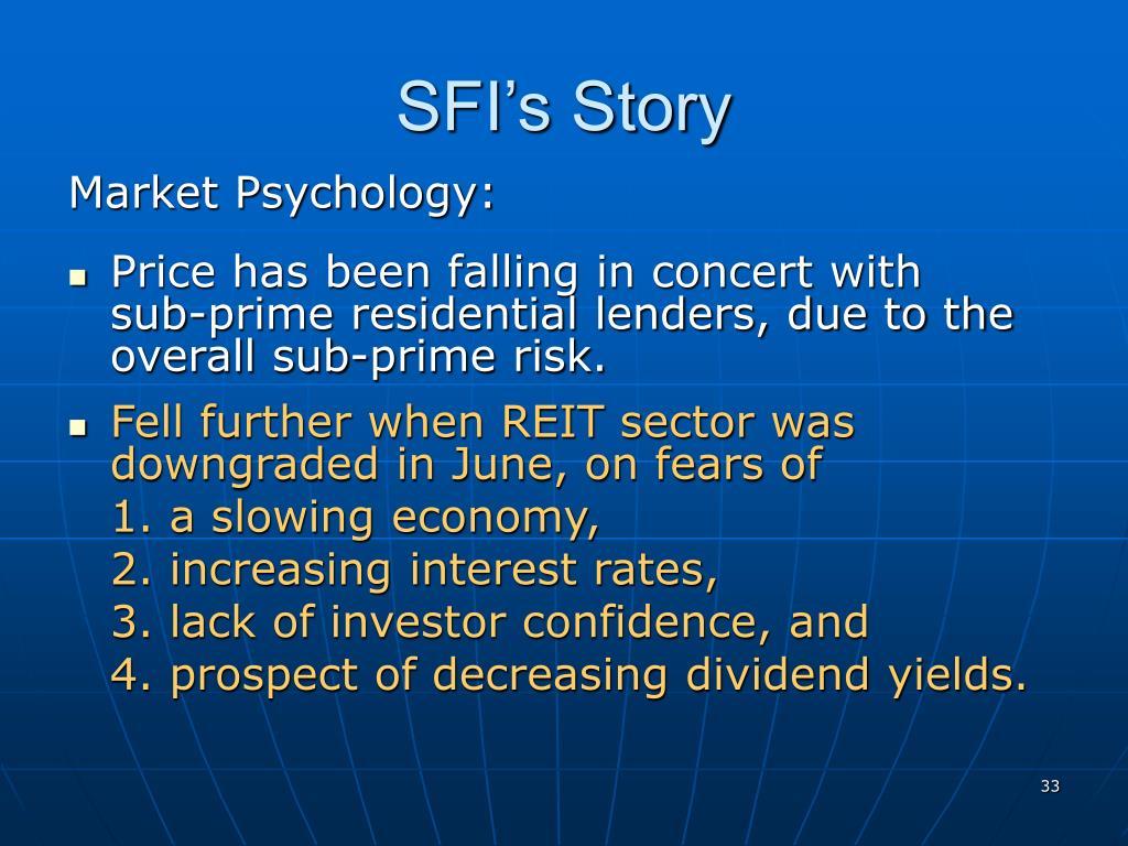 SFI's Story