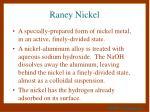 raney nickel