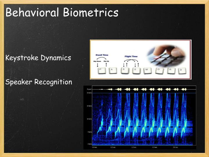 Behavioral biometrics2