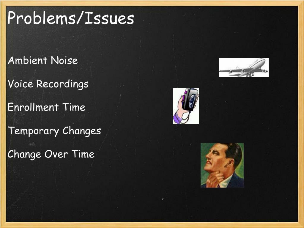 Problems/Issues