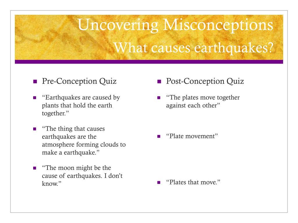 Pre-Conception Quiz