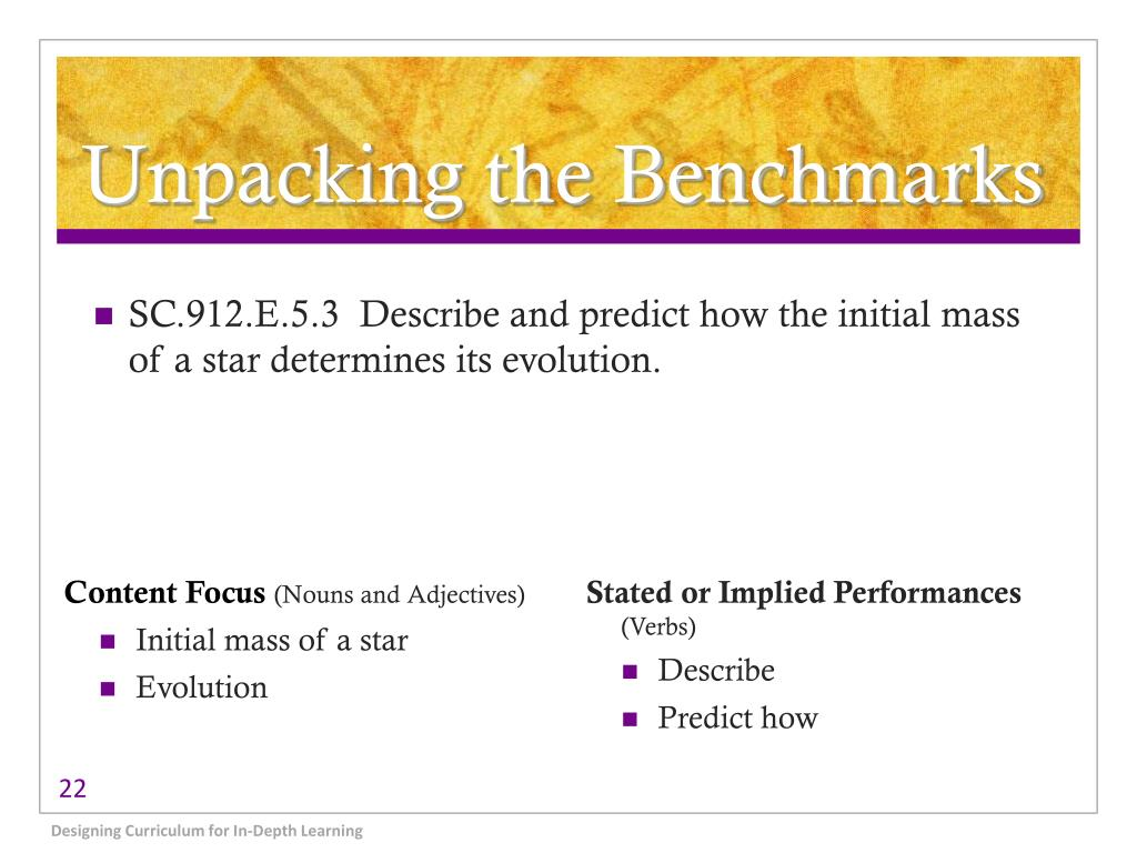 Unpacking the Benchmarks