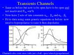 transients channels