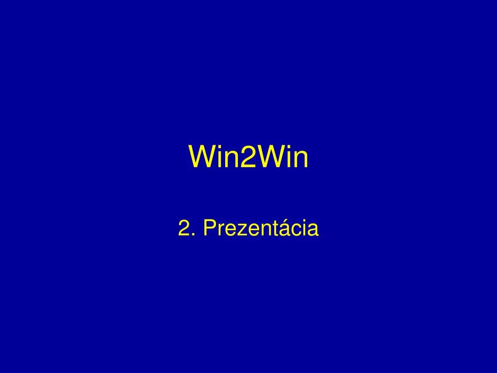win2win l.