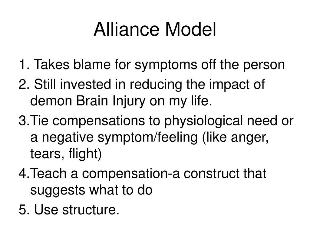 Alliance Model