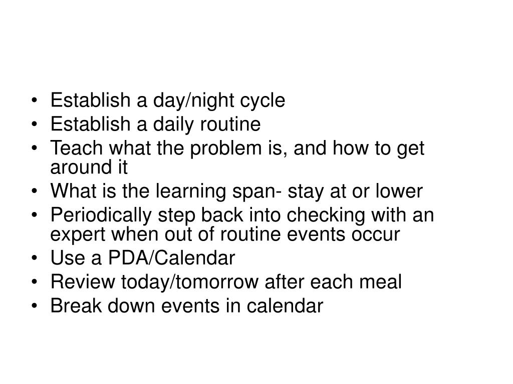 Establish a day/night cycle