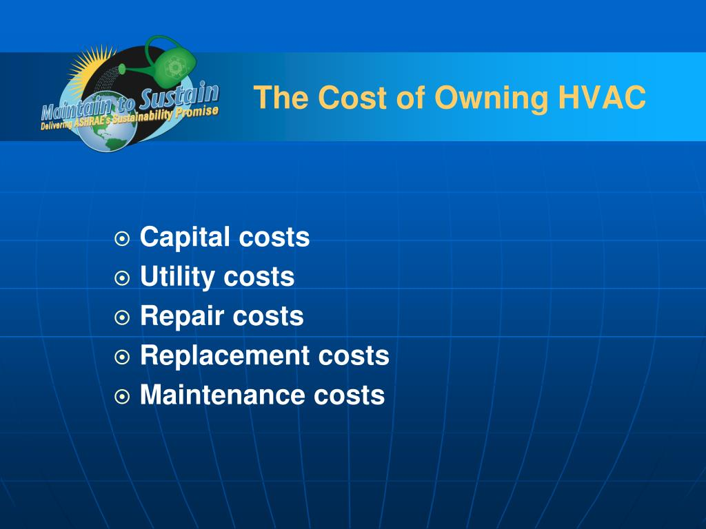 The Cost of Owning HVAC