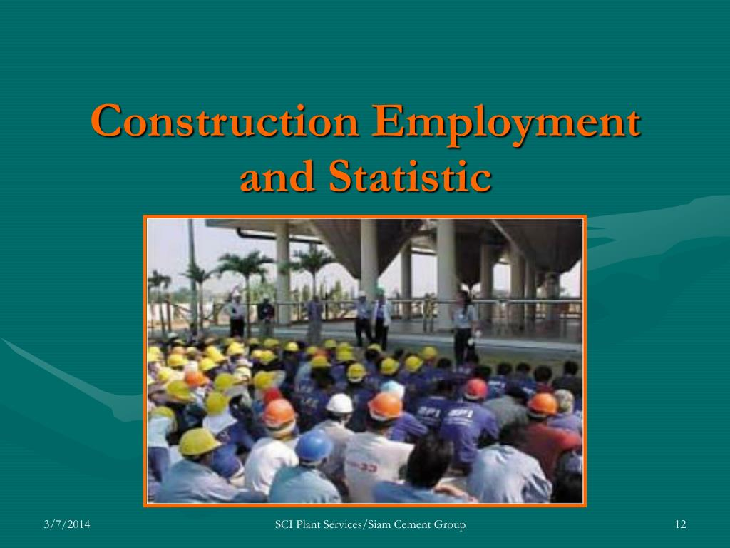 Construction Employment and Statistic