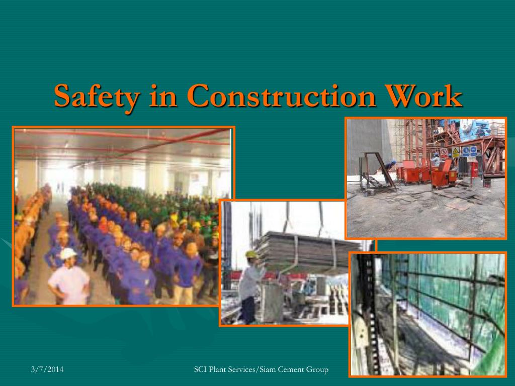 Safety in Construction Work