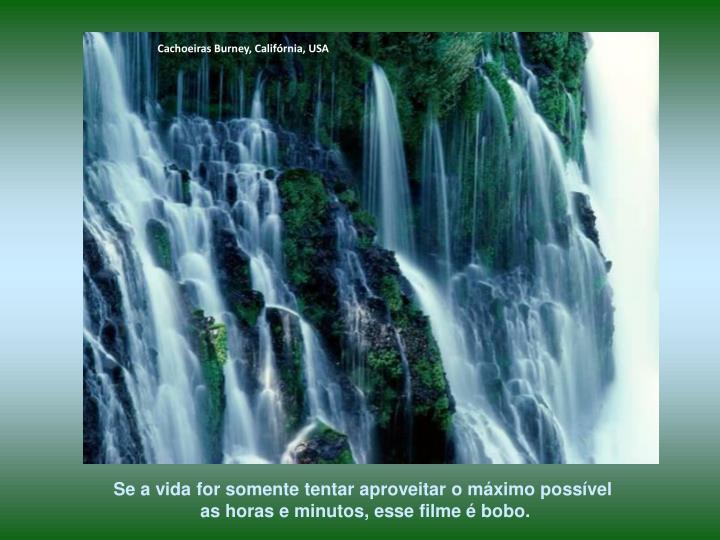 Cachoeiras Burney, Califórnia, USA