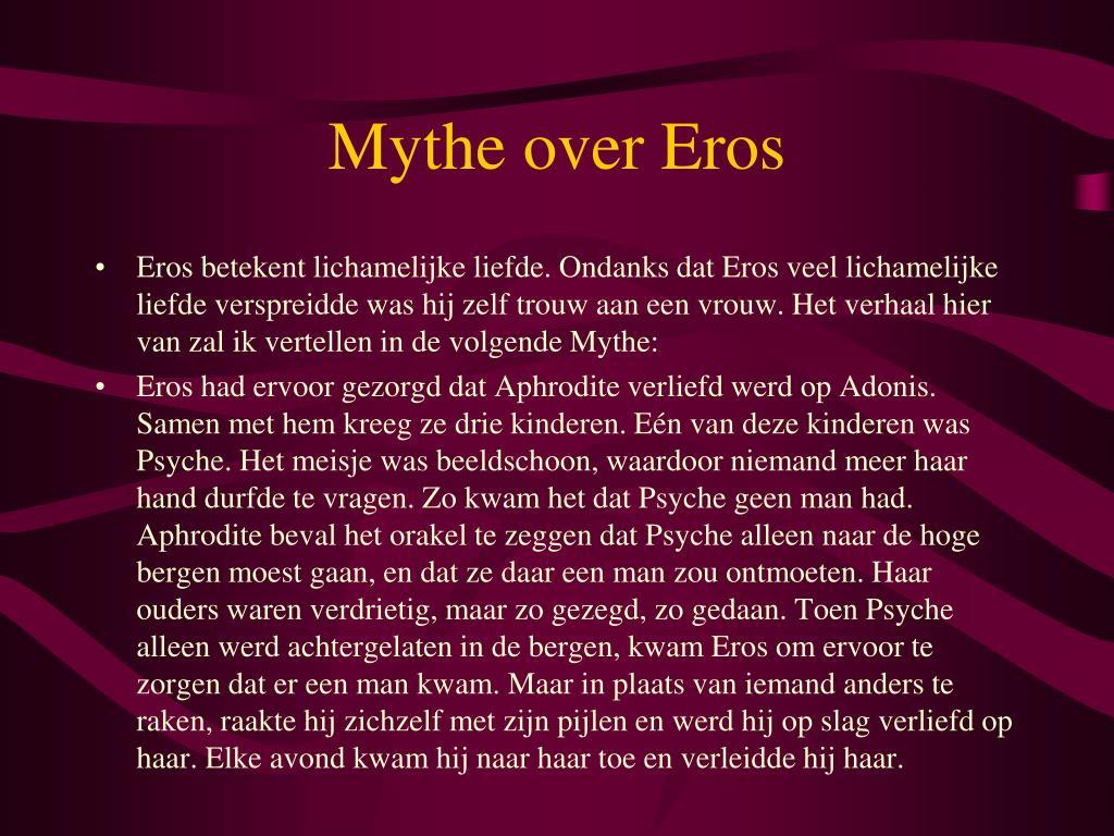 Mythe over Eros