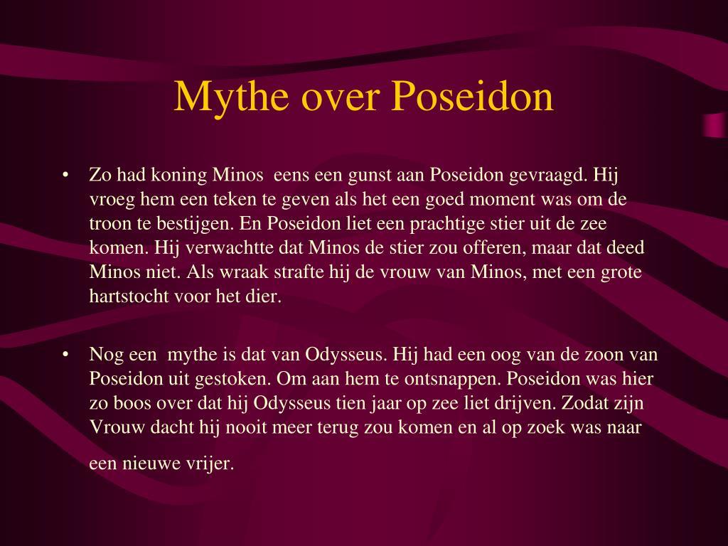 Mythe over Poseidon