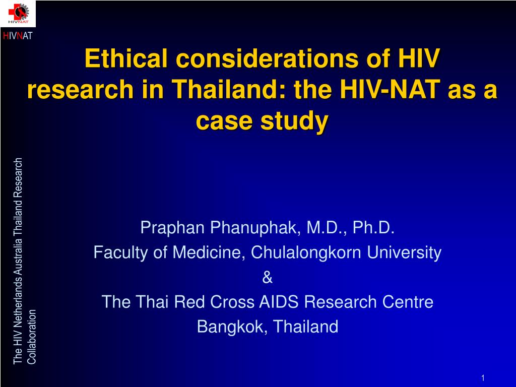 hiv case study Hiv case study presentation 1 obstacles to adequate nutrition in human immunodeficiency virusprepared by: jessica mcgovern.