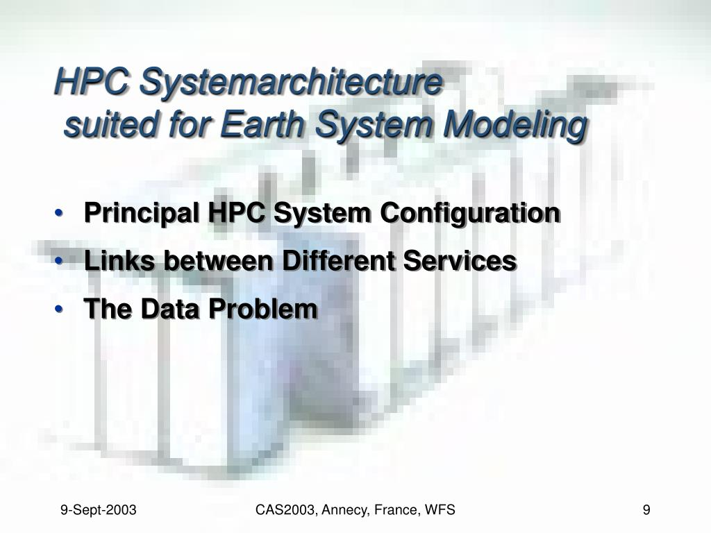 HPC Systemarchitecture