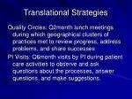 translational strategies9