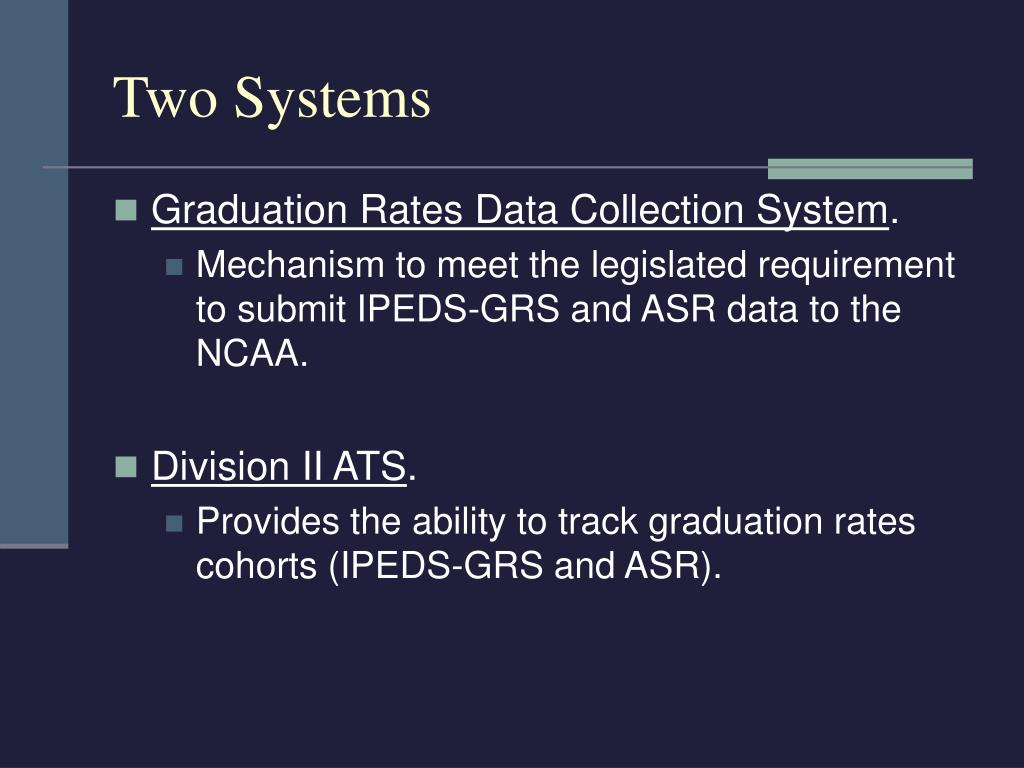 Two Systems