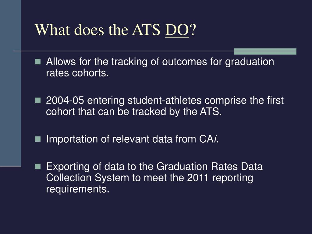What does the ATS
