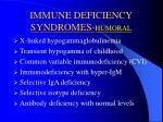 immune deficiency syndromes humoral