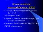 severe combined immunodeficiency scid 2