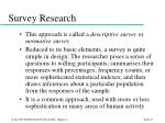 survey research23