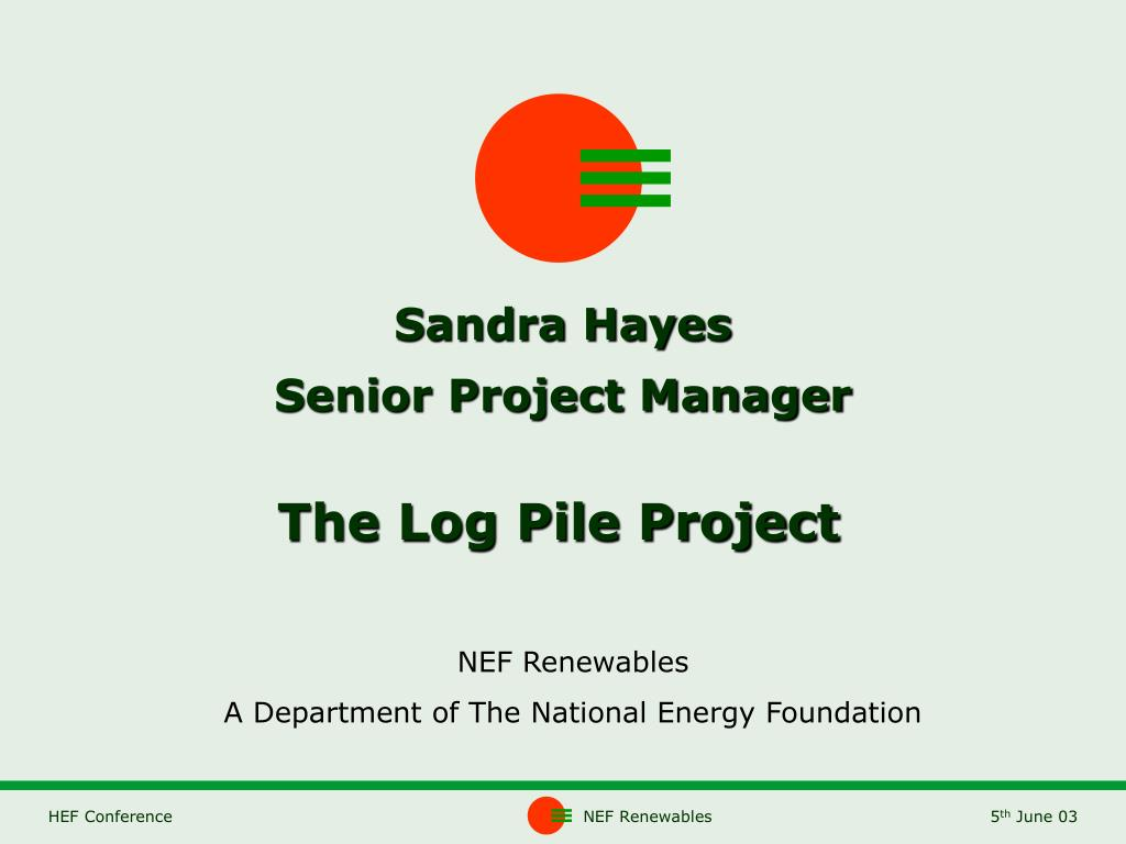 sandra hayes senior project manager l.