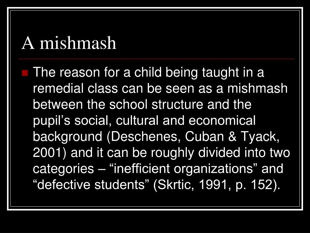 A mishmash