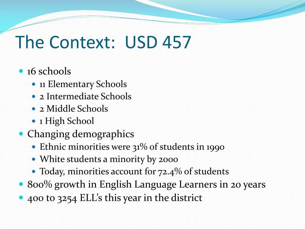 The Context:  USD 457