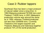 case 2 rubber tappers